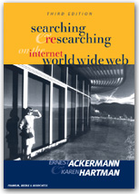 Searching and Researching on the Internet and the World Wide Web